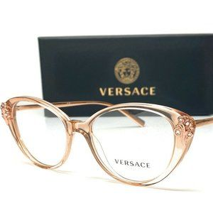Versace Transparent Brown Cat Eye's